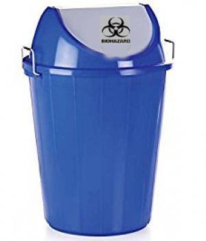 Blue Colour Waste Bin (Swing)
