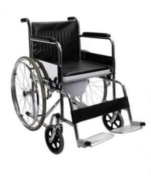 Wheel Chair Fixed Commode